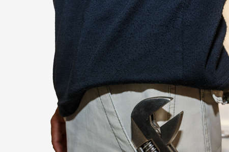 chrome man: Adjustable Wrench in the pants pocket