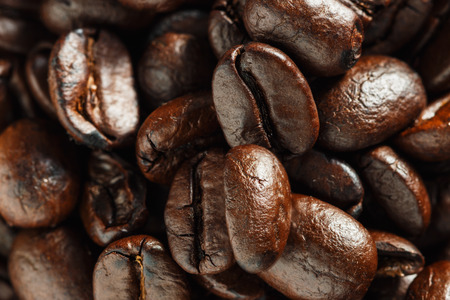 Roasted coffee beans espresso