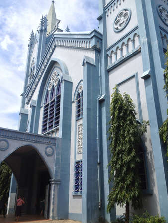 immaculate: Immaculate Concepcion church in Palawan Philippines