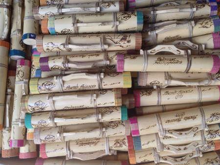 palawan: Fabricante de lluvia Nativo de Palawan Filipinas