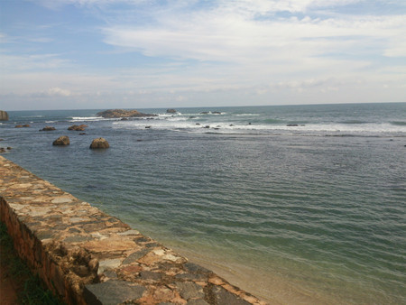 View of a seashore Standard-Bild
