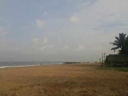 View of a tropical beach