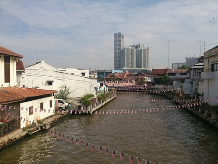 View of town in Malaysia
