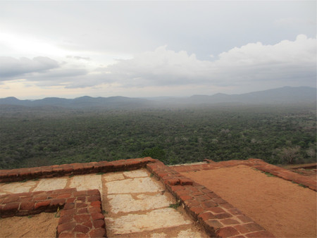 Scenic view at the Sigiriya, Sri Lanka