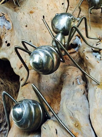 steel: Steel ants, texture