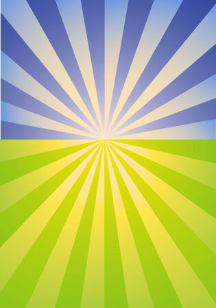 season: Dynamic abstract  background, landscape horizon. Vector illustration . Illustration