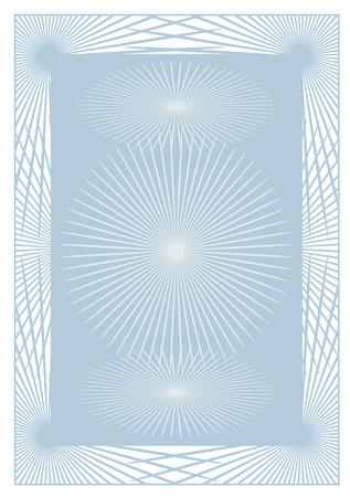 oorkonde: Abstracte achtergrond voor een certificaat of diploma. Vector illustratie.