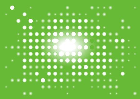Green abstract digital display.  illustration. Stock Vector - 6987769