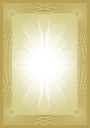 deed: Certificate diploma gold background Gold abstract background applicable for certificate or diploma. Vector  available.
