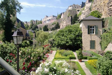 benelux: Luxembourg Stock Photo