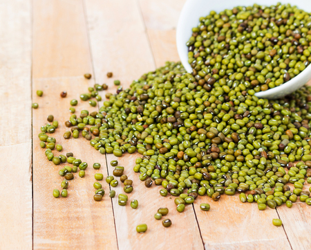 beansprouts: The mung beans Stock Photo