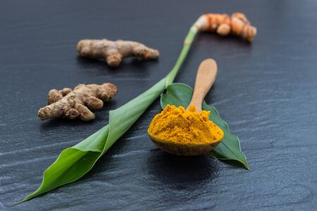 Turmeric and Curcumin, Used in Asia  and is a major part of Siddha medicine. It was first used as a dye, and then later for its medicinal properties. That Should Lower Your Risk of Heart Disease. Stock Photo