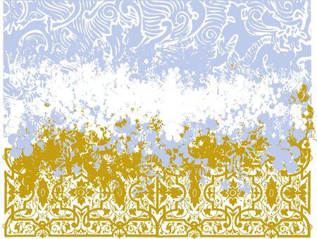 Textured pattern illustration