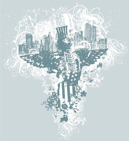 City of angels illustration
