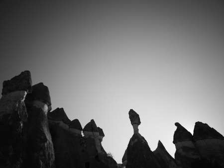 Cappadocia volcanic tuff formation Stock fotó