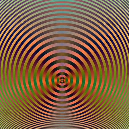 snhiny abstract background formed of concentric circles