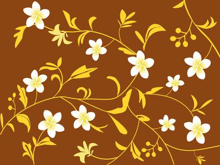 floral design- frangipani flowers