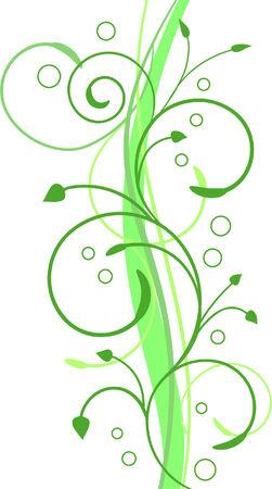primavera: Abstract floral background, element for design