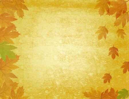 grungy autumn background Stock Photo - 3621418