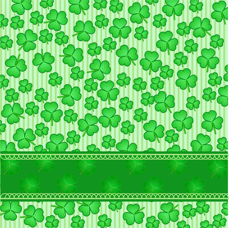 a st. patricks day background Vector