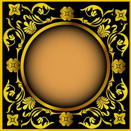 a vintage frame