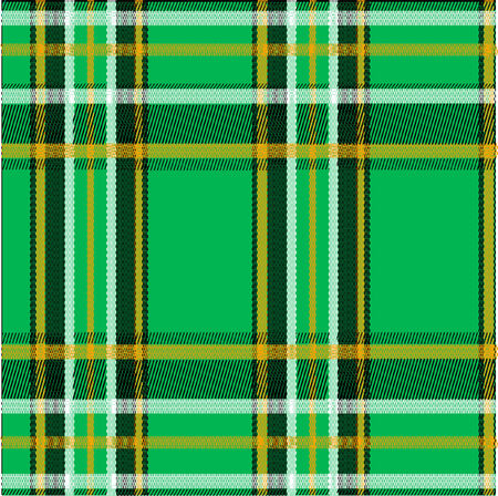 a traditional irish plaid pattern Vector