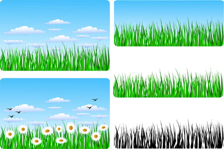 a set of spring/easter backlgrounds Stock Vector - 4464963