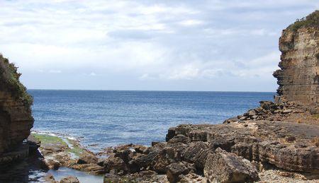 the gap in albany, western australia photo