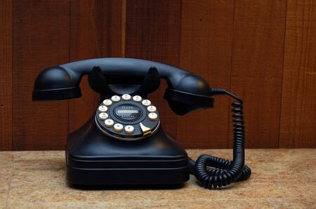 vintage telephone Stock fotó - 6043547