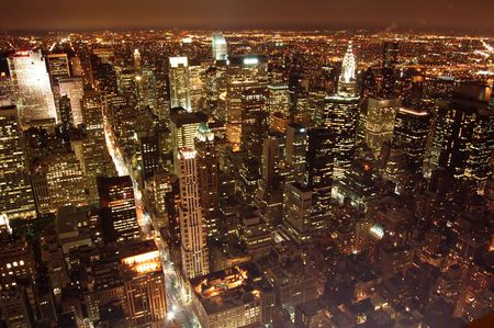 new york night: manhattan