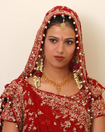 indian bride photo