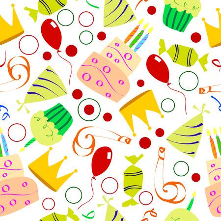 birthday  Ilustrace