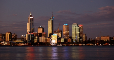 perth: Perth, Western Australia Stock Photo