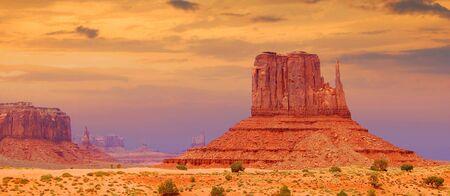 Monument valley, Utah Stock Photo