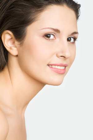 Close-up portrait of sexy caucasian young woman Stock Photo - 4231275
