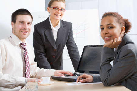 Working business team Stock Photo - 6782517