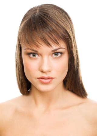 Beautiful girl face. Perfect skin concept Stock Photo - 10672241
