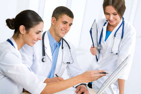 clinical staff: Young doctors in the workplace