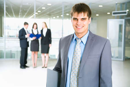 Businessman in modern office Stock Photo - 12836731
