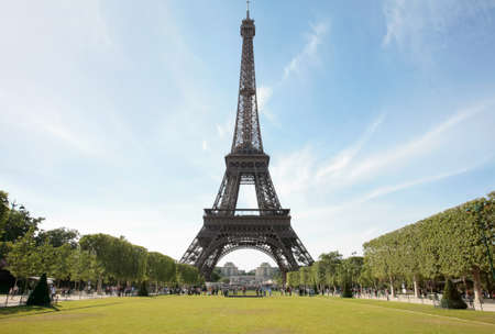 Eiffel Tower, symbol of Paris  photo