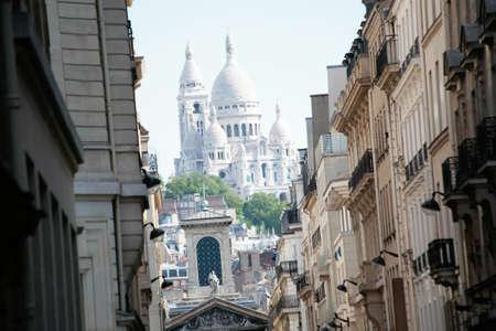 coeur: Basiliek van Sacre Coeur, Montmartre, Parijs, Frankrijk