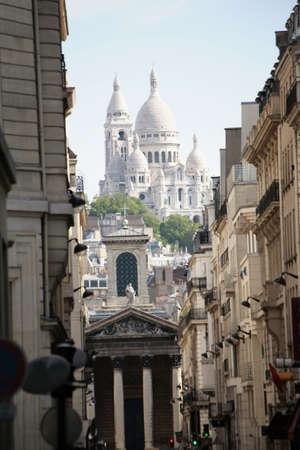 montmartre: Basilique of Sacre Coeur, Montmartre, Paris, France