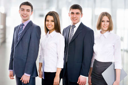 Group of young business people Stock Photo - 14735196