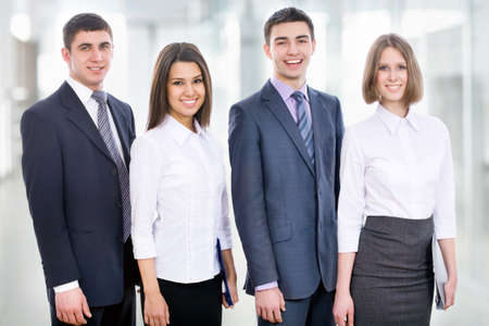 Group of young business people Stock Photo - 14735195