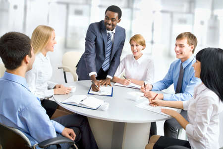 International group of business people working together. Zdjęcie Seryjne