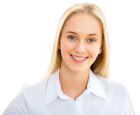 Portrait of a young business woman Stock Photo - 21258464