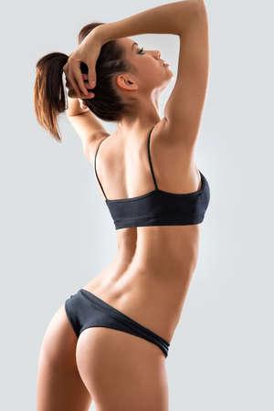 Belle femme en lingerie sexy