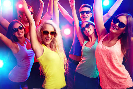 Young people having fun dancing at party. Stock Photo - 23220858