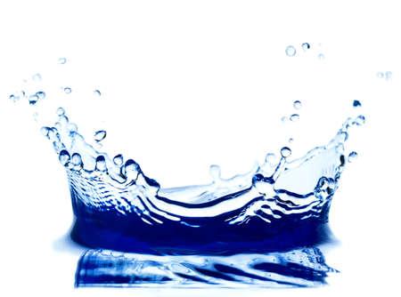 Water splash isolated on white. Фото со стока - 24848978