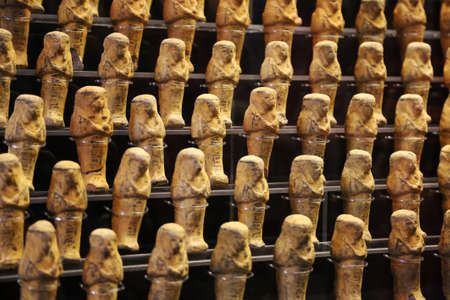 ancient egyptian civilization: Egyptian golden statuettes